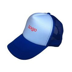 The front section of  the trucker hat above the bill is foam, and the rest is plastic mesh for breathability. The foam front of the hat stands up straight and stiff, which makes the trucker hat taller than most baseball caps. There is an adjustable plastic snap in the back to ensure that one size fits most. This design was intended to make the cap much cooler in the sun or hot weather for the comfort of the wearer. Your logo can be printed on it for your promotional purpose.