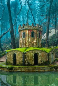 Ancient Tower - Sintra, Portugal..