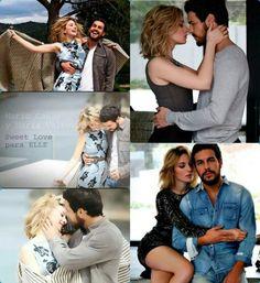 MARIO CASAS y MARIA VALVERDE sweet love para ELLE