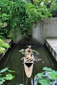 Three Dogs in a Garden: Pin Ideas: Small Water Features & Garden Ponds