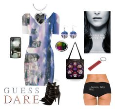 """Do You Dare with GUESS Dare: Contest Entry"" by stine1online ❤ liked on Polyvore featuring GUESS and DoYouDare"