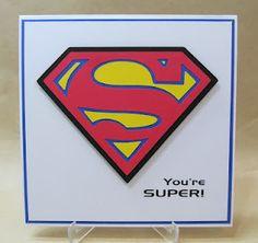 You're Super card. Superman emblem.