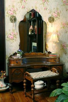 antique dressing tables attitude