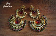 Rodolite Chand Balis..  Price - 8500/-  Place your order by sending us an email to justjewellery08@gmail.com