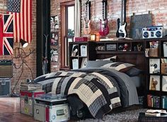 band themed studio apartment - Google Search