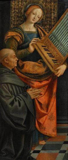Santa Cecilia, Renaissance Costume, Italian Renaissance, Catholic Crafts, Italian Art, Museum Of Fine Arts, Illuminated Manuscript, 16th Century, Opera