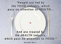 Let food be thy medicine...  A plant based diet is the best way to keep healthy.