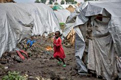 child in drc - serious protection needs remain for 140,000 displaced