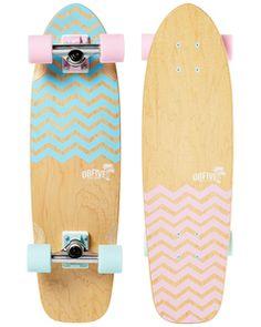 Chevron Cruiser - OBfive Skateboards