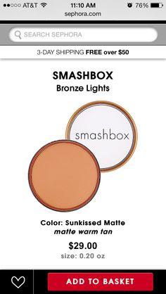 Perfect orange/tanned bronze