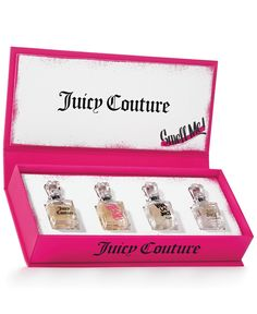 You've got to have options for the girl who wants more, Juicy Couture