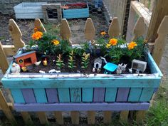 Build a Simple Planter Box from scrap wood