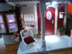 Barbie House OOAK Fashion Royalty Victorian House with Furniture Accessories   eBay