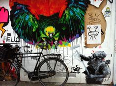 When bikes and Banksy collide