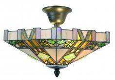Art Deco plafonniere- 40 cm