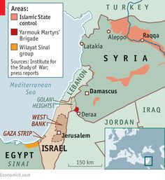 THE CALIPHATE EYES THE HOLY LAND - Israel faces the jihadists in Syria, in Sinai and perhaps even at home
