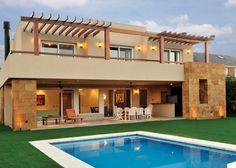 Estudio Gamboa - Casa estilo actual - Arquitectos - PortaldeArquitectos.com