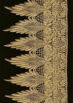 Vintage lace.