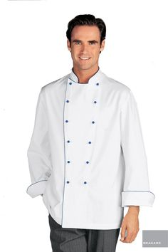 Chef Jackets Novelty & Special Use Open-Minded Short-sleeved Neckline Embroidered Flag Chef Jacket Hotel Restaurant Working Wear Food Services Cooker Clothes Man Coat Overalls To Have A Long Historical Standing