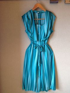 Woman's Vintage Evening Summer Dress by MajosCloset on Etsy
