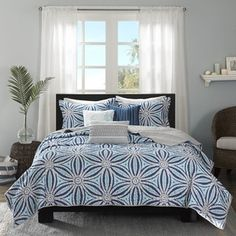 Shop for Madison Park Paros Blue 6-piece Coverlet Set. Get free shipping at Overstock.com - Your Online Fashion Bedding Outlet Store! Get 5% in rewards with Club O!