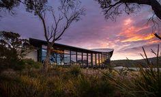 Sunset over Saffire Freycinet, Tasmania