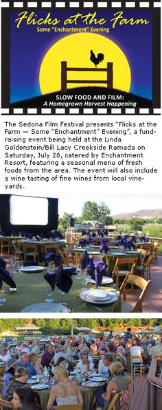 'Flicks on the Farm' event features fine wine and fine food plus Cinema Under the Stars at Lacy Farm