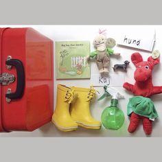 Kuffert: Kaj har fine støvler
