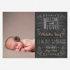 Free Birth Announcement Template Photoshop Photography – Photoshop ...