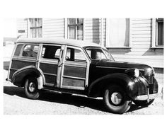 Volvo PV61 Woodie factory photo