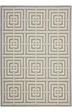 Courtyard CY6937 Grey Rug Item #: 101CY693723-P Your Price :$23