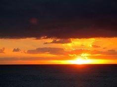 Sun rise Lanzarote