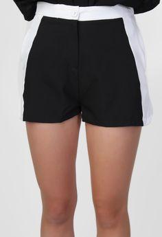 Black & White Shorts - Wildpair
