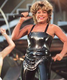 Tina Turner in concert at Wembley, 2000 [Express]