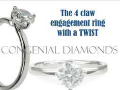 The COMPASS SETTING engagement ring