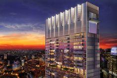 SOM tanjong pagar centre singapores tallest building designboom