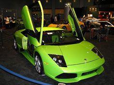 Green Lamborghini - Exotic Sports Car - South Florida International Auto Show | Flickr - Photo Sharing!