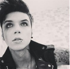 Andy Biersack is my inspiratoin. I have chosen the pen over the knife. ♡ Black Veil Brides ♡ BVB Army ♡