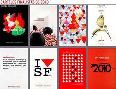 Carteles finalistas de San Fermín 2010