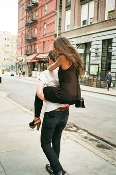 Josh picks me up /gives me piggyback rides all the time and I absolutely love it, one od my favorite s with him <3
