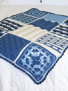 Crochet Afghan Square of the Week