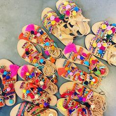 Muzungu Sisters, greek sandals