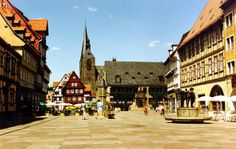 Collegiate Church, Castle and Old Town of Quedlinburg-UNESCO State of Saxony-Anhalt (Sachsen-Anhalt)