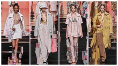 Fendi Ready to Wear – Spring 2020 - Glam News Magazine News Magazines, Karl Lagerfeld, Ready To Wear, Kimono Top, Cover Up, Spring, How To Wear, Tops, Dresses