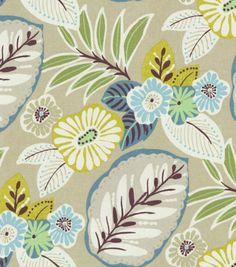 Home Decor Print Fabric-Richloom Studio Landora Beachcomber Beige, look at in Joann's