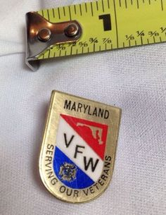 VFW (VETERANS OF FOREIGN WARS) Maryland LAPEL PIN