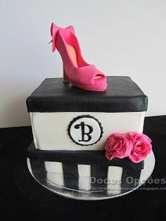 Doces Opções: Bolo de aniversário da Bárbara