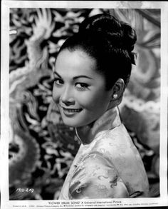 nancy kwan - 1st Eurasian actress - absolutely nailed her role in Flower Drum Song