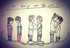 Thin line of larry love