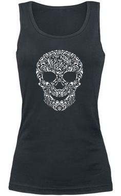 Skull tank top ~ EMP